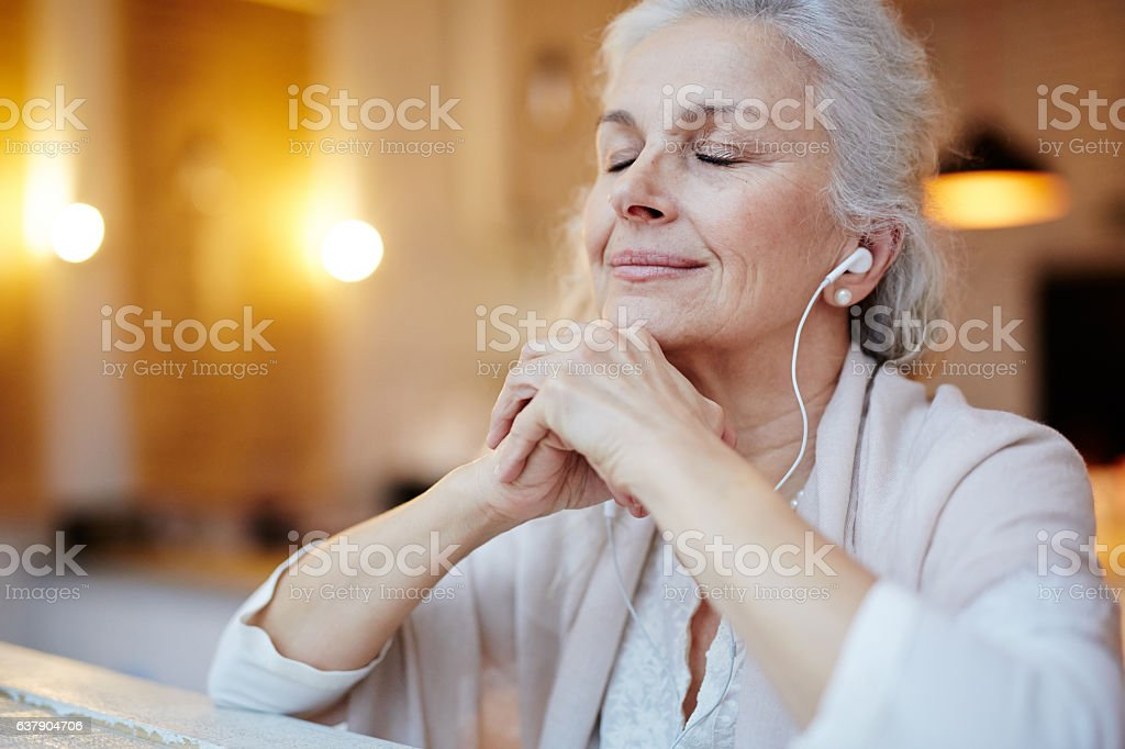 Music for relax stock photo
