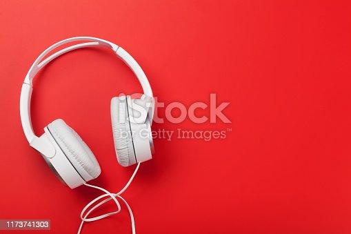 istock Music headphones 1173741303