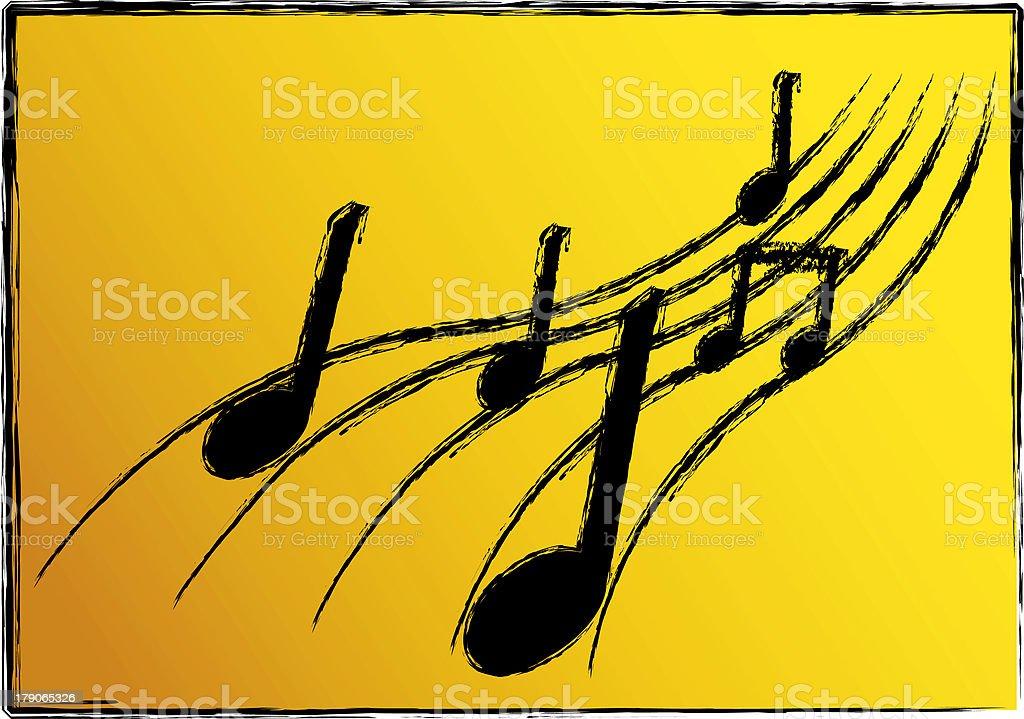 Music Illustration royalty-free stock photo