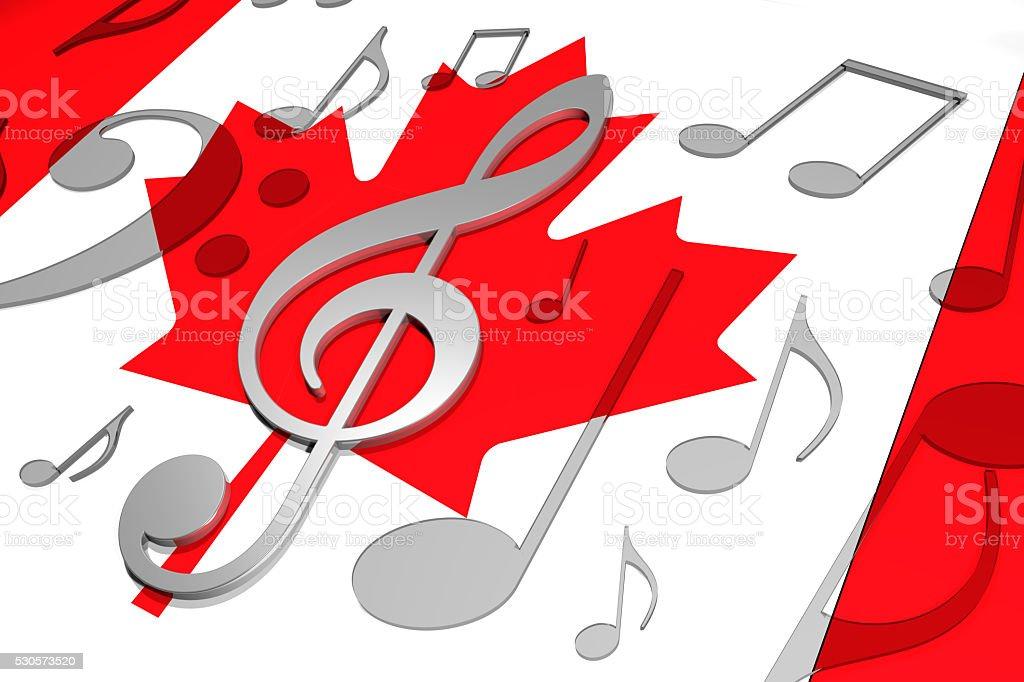 Music in Canada stock photo
