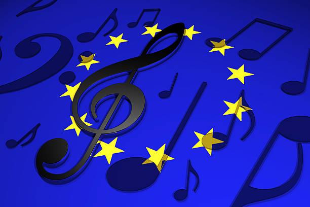 Music in Europe stock photo