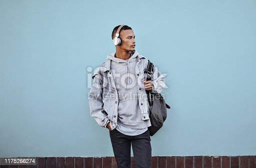1165318420istockphoto Music is my escape from all the negativity 1175266274