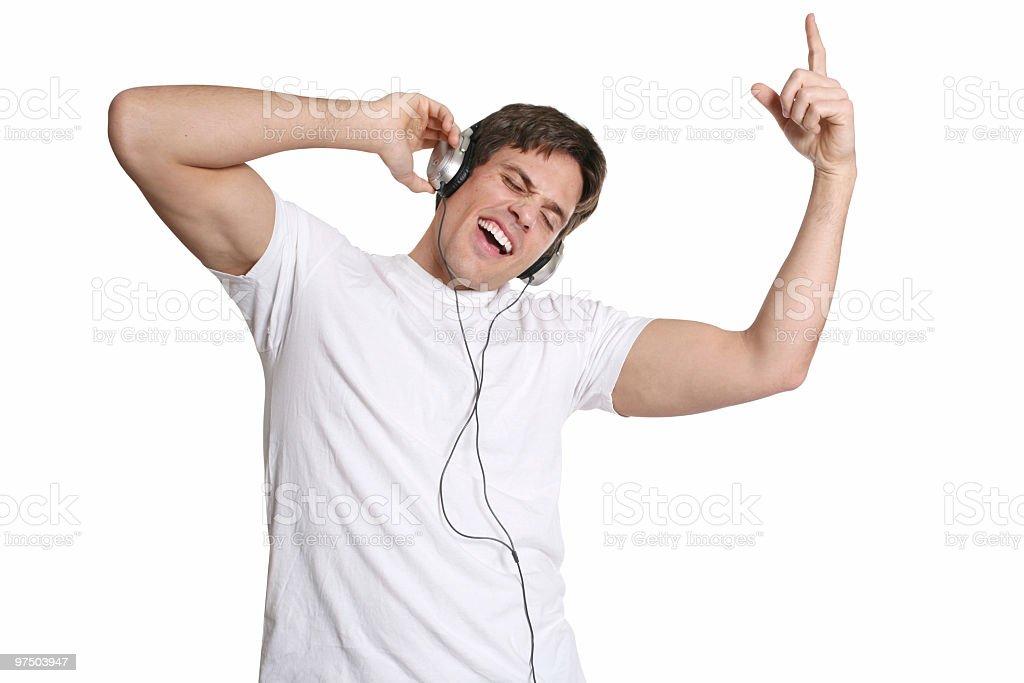 Music is so fun royalty-free stock photo