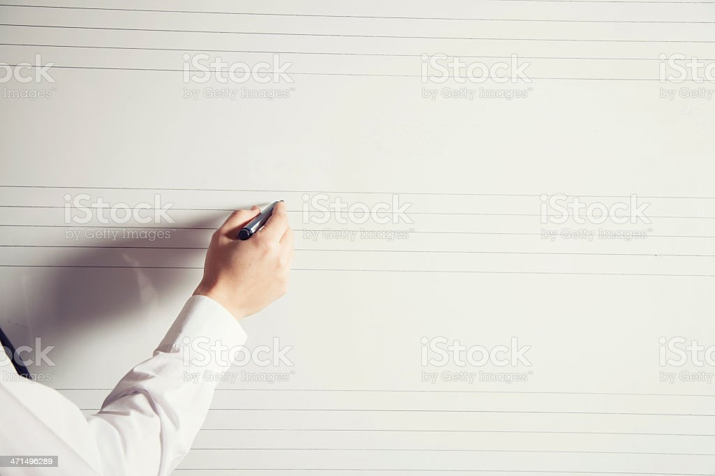 Music Lecture royalty-free stock photo