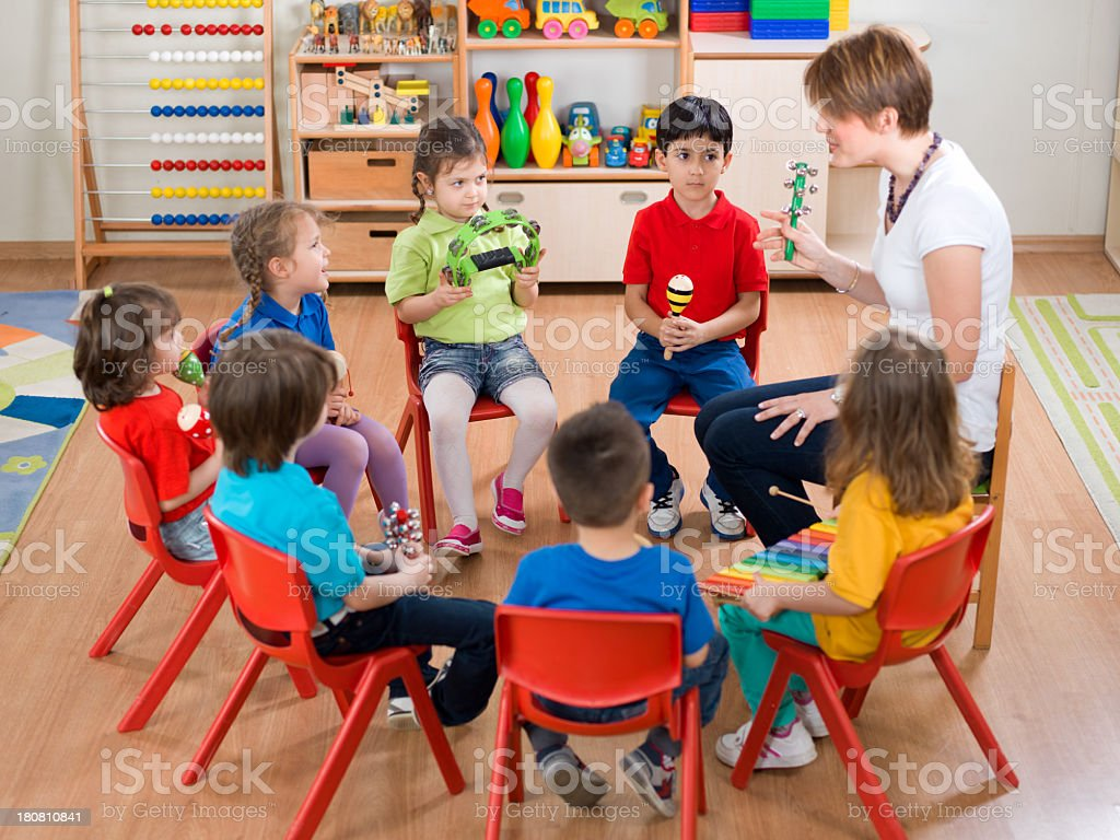 Music Lesson royalty-free stock photo