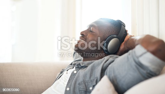 istock Music makes all seem good in the world 902820090