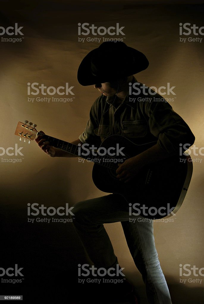 Music man stock photo