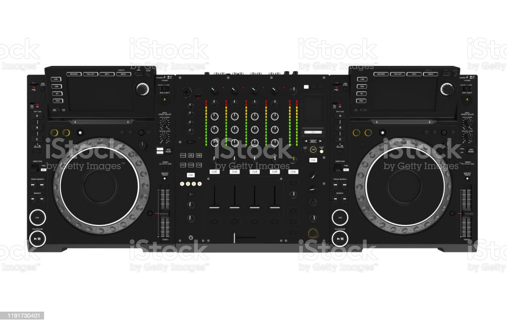 Dj Music Mixer Isolated Stock Photo Download Image Now Istock
