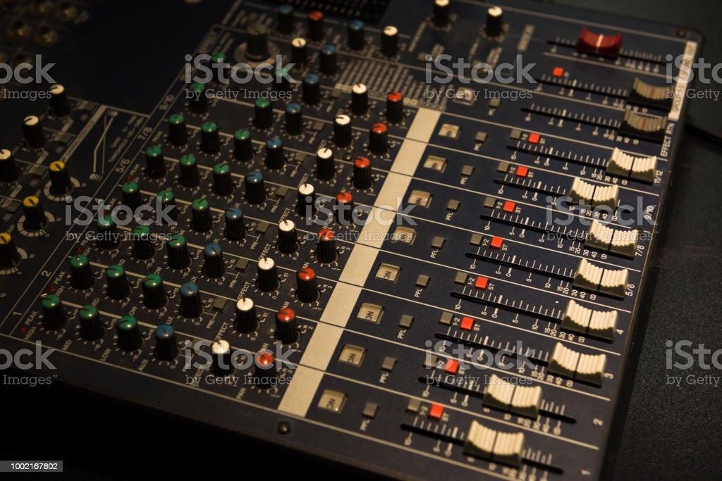 Music Mixer Stock Photo - Download Image Now - iStock