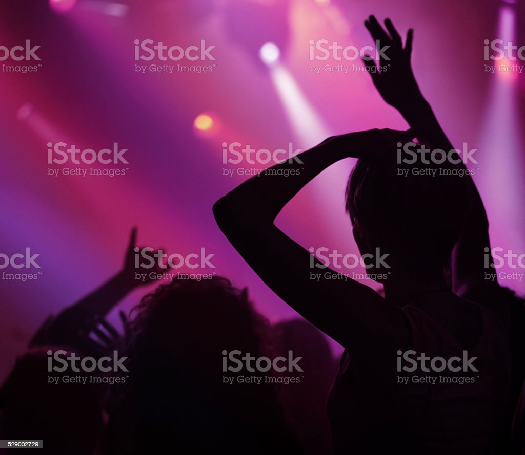 Music moves you stock photo