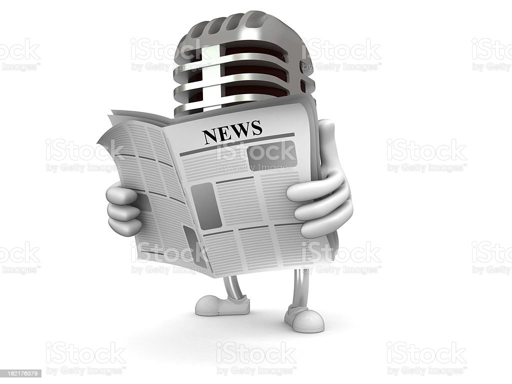 Music news stock photo