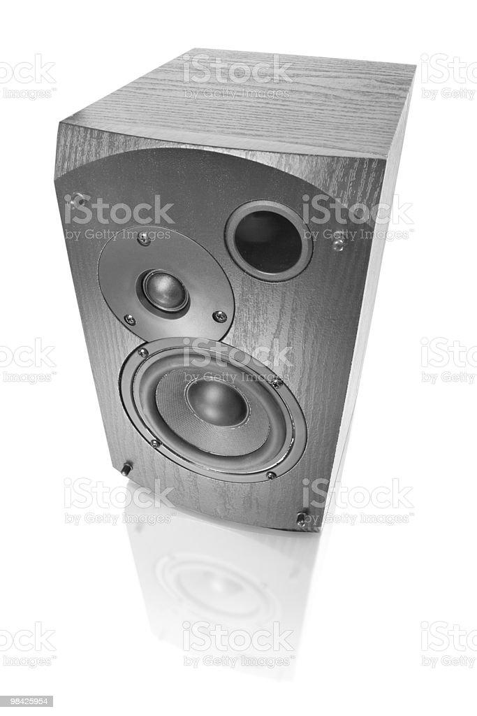 music object. speaker royalty-free stock photo