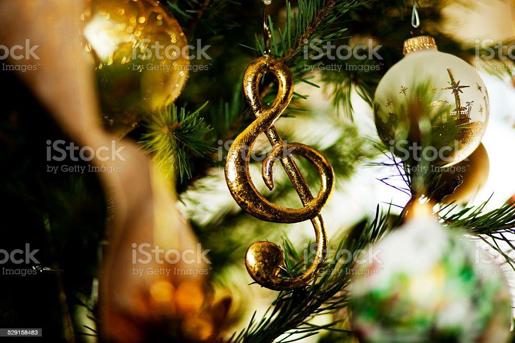 Music Ornament stock photo