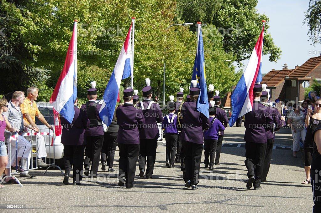Music parade festival in Limburg royalty-free stock photo