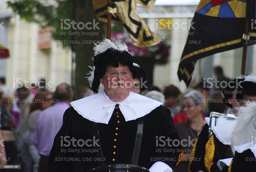 Music parade in Kerkrade royalty-free stock photo