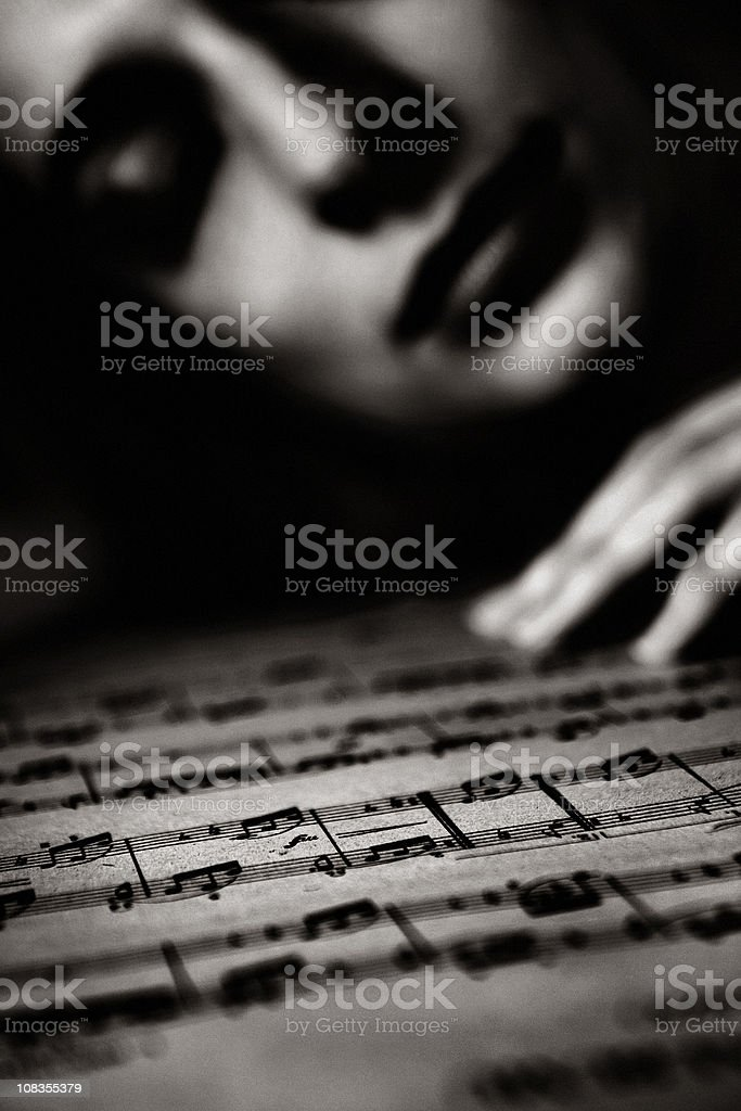 Music passion royalty-free stock photo
