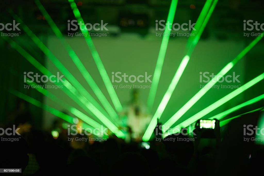 Music Performance With Strobe Light Royalty Free Stock Photo