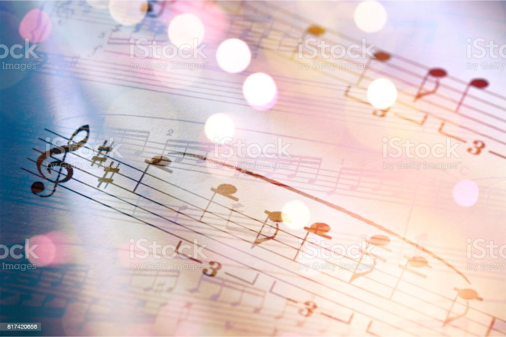 Music. stock photo