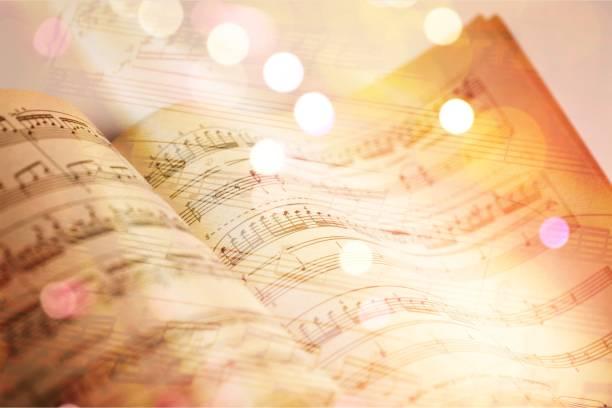 la musique. - note de musique photos et images de collection