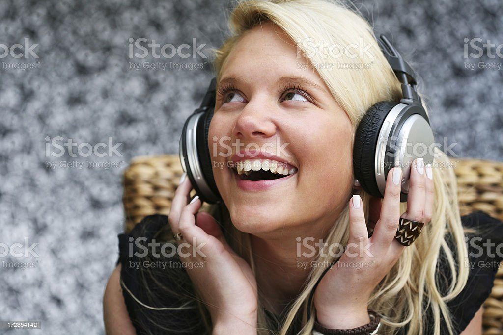 Music portraits royalty-free stock photo