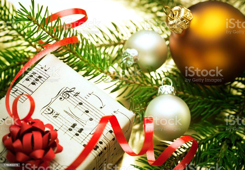 Music Present royalty-free stock photo