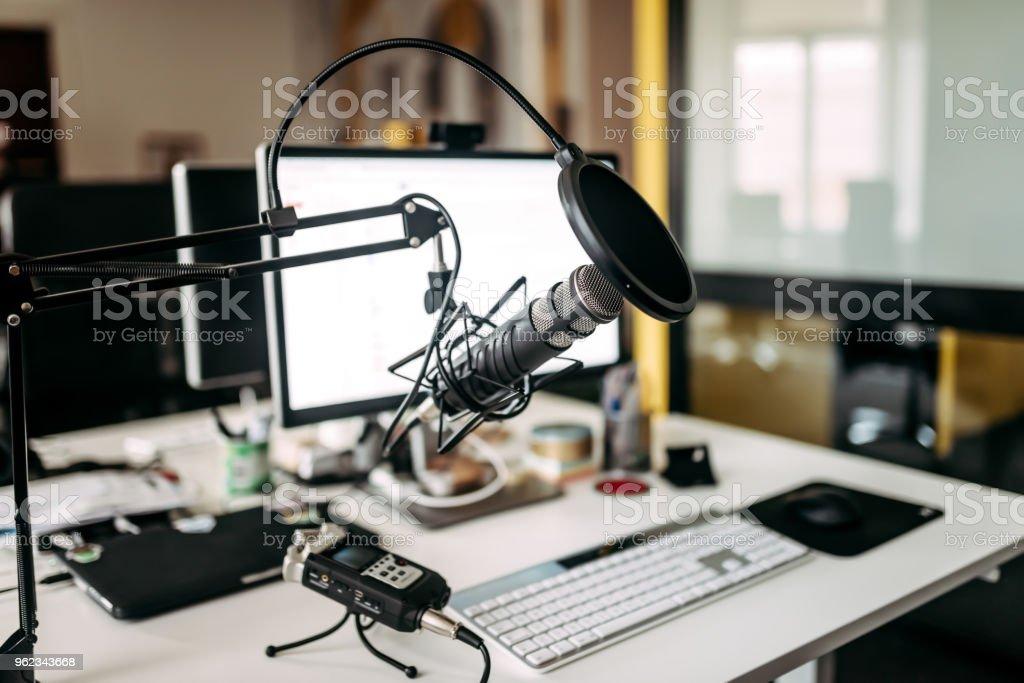 Equipo de producción de música. - Foto de stock de Actuación - Conceptos libre de derechos