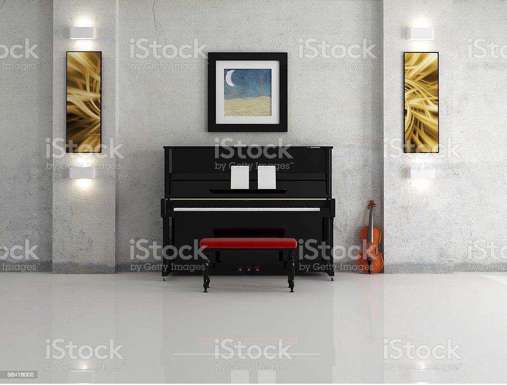 music room royalty-free stock photo