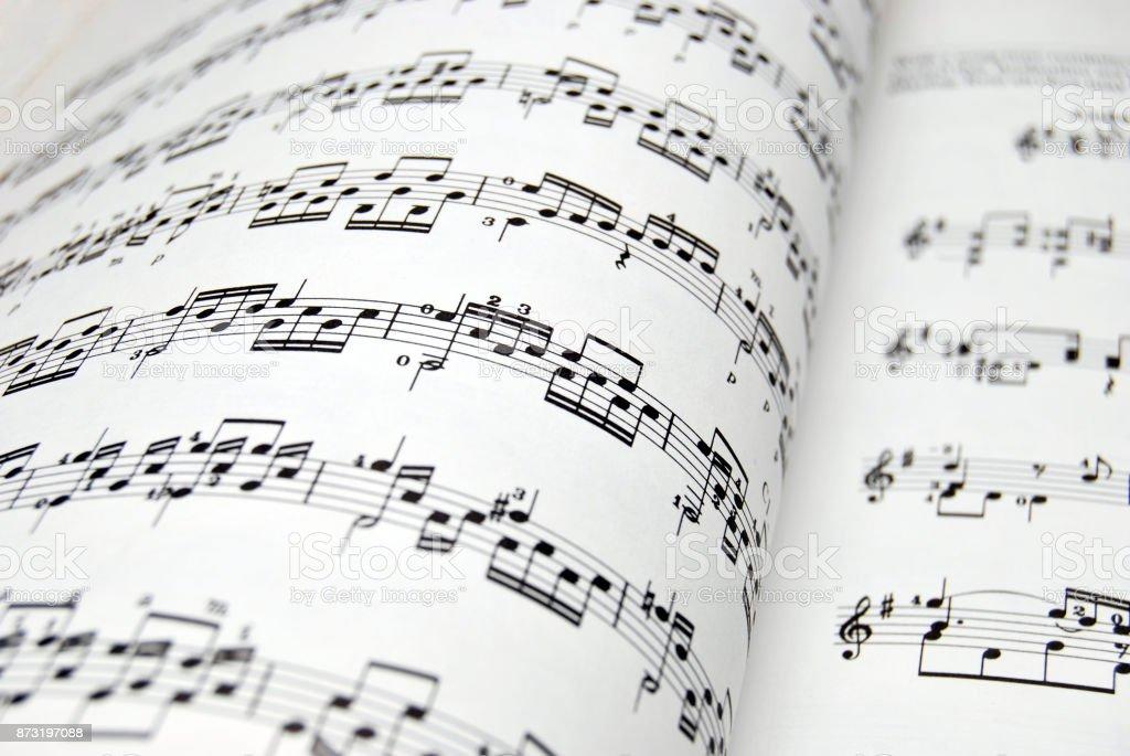 Müzik sayfası - Royalty-free Ahenkli Stok görsel
