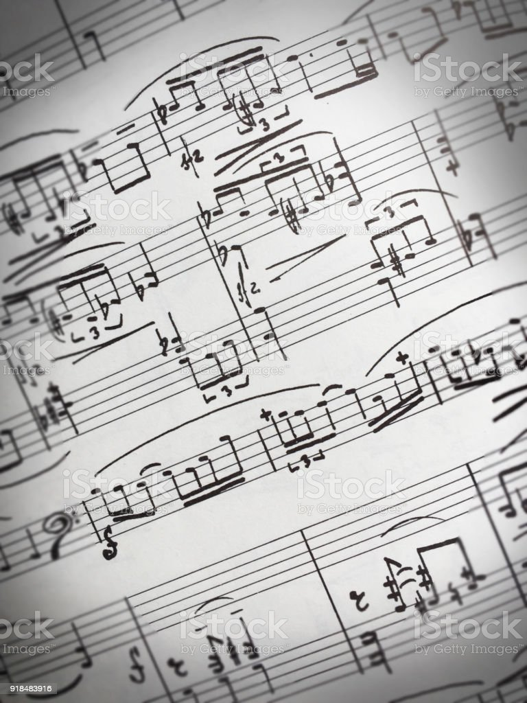 Hoja De Música - Stock Foto e Imagen de Stock | iStock