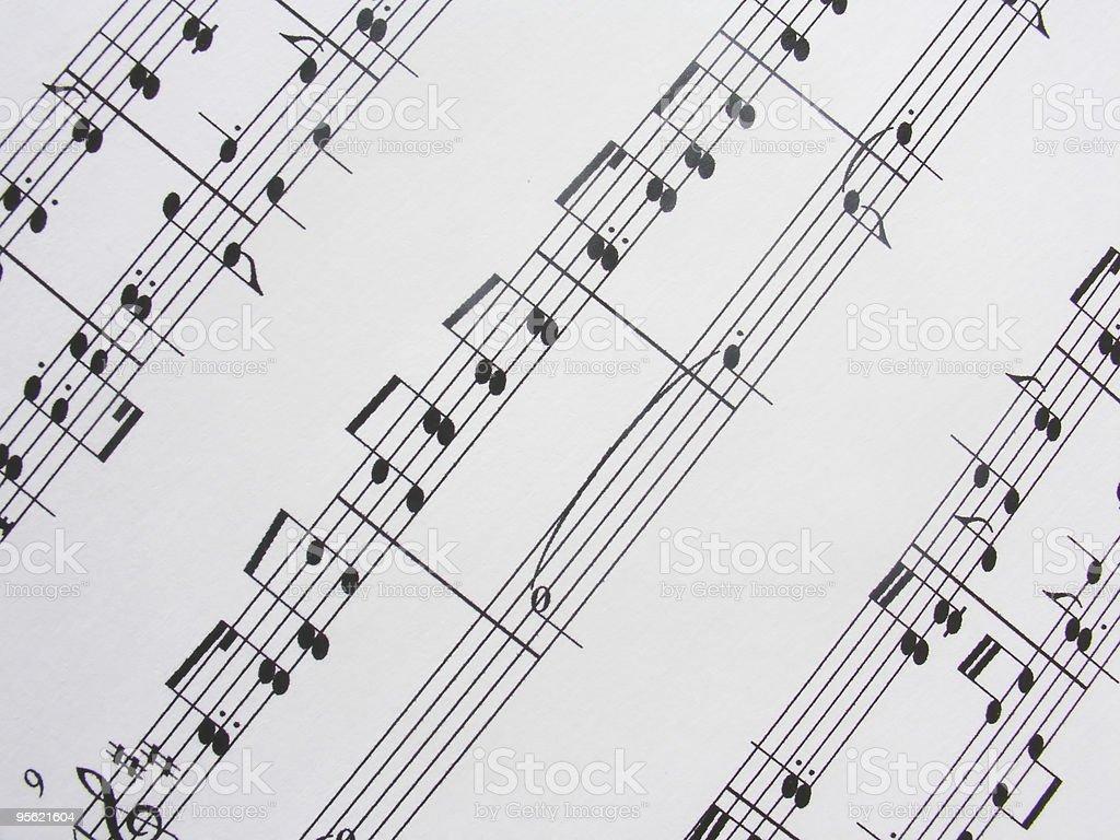 music sheet2 royalty-free stock photo