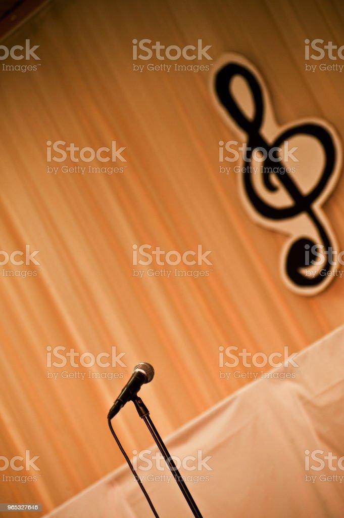 Music Stage zbiór zdjęć royalty-free