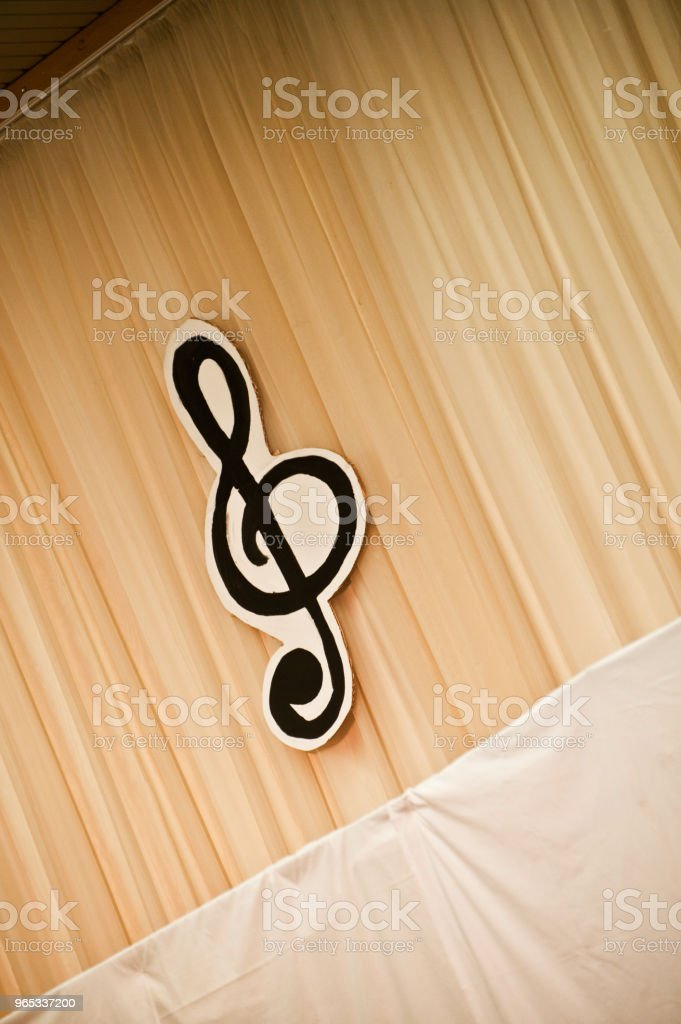Music Stage royalty-free stock photo