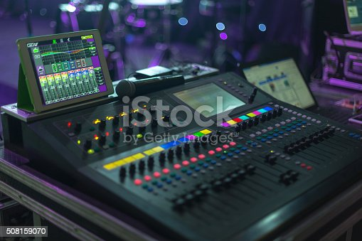 Music system in concert hall