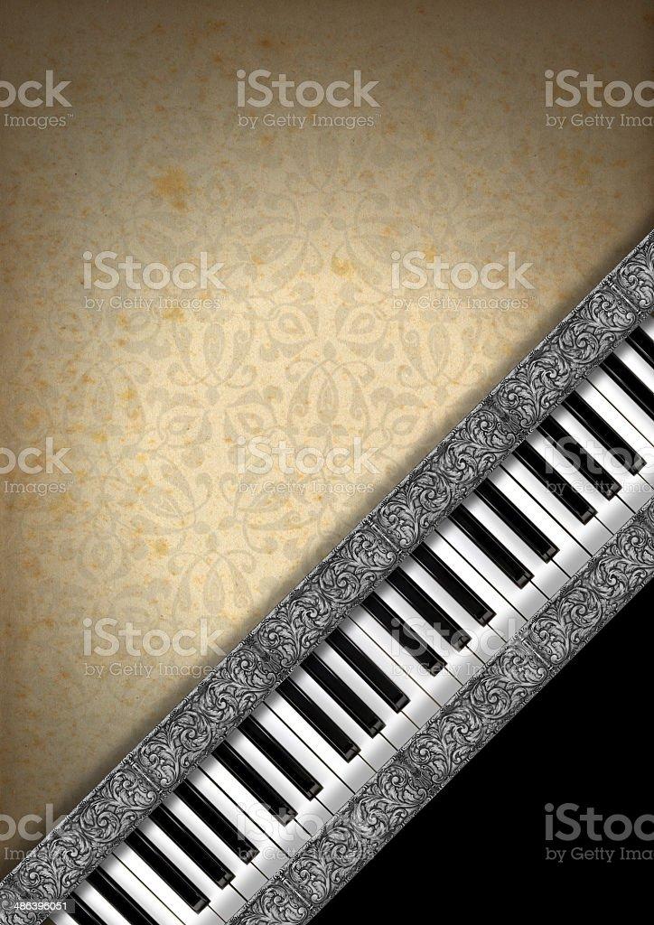Music Vintage Background royalty-free stock photo