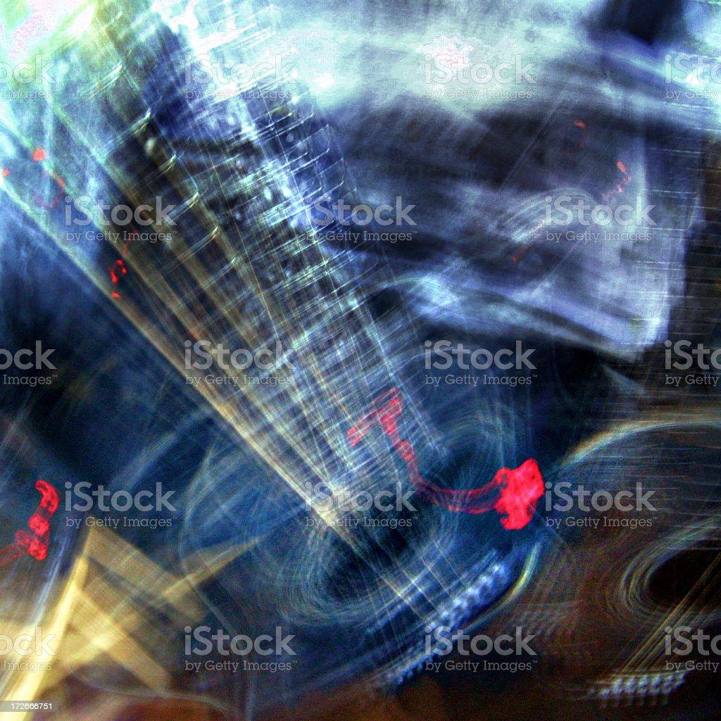 Music Visualisation royalty-free stock photo
