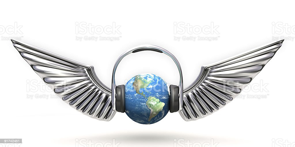 Music world royalty-free stock photo