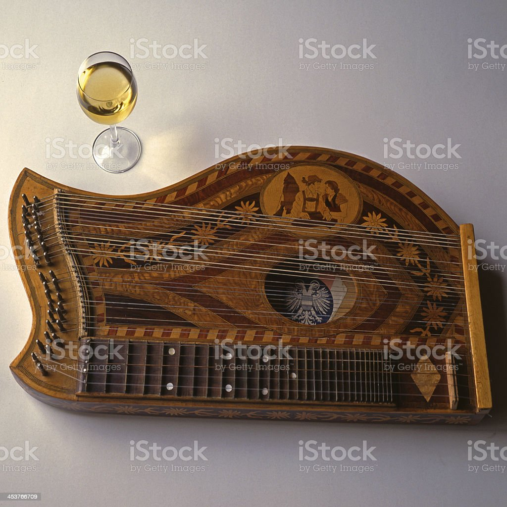 Music, Zither stock photo