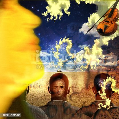 istock Musical Abstract 1091298518