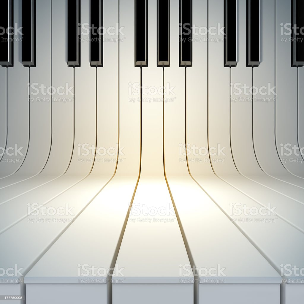 Musical background. stock photo