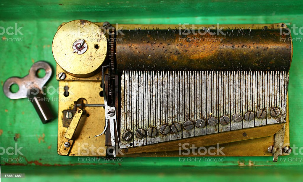 Musical Box stock photo
