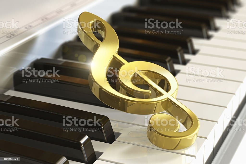 Musical concept royalty-free stock photo