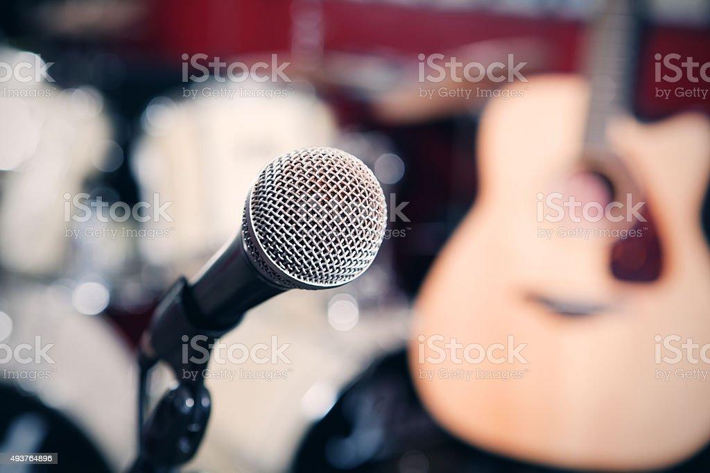 Musical Equipment stock photo