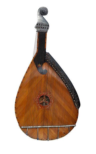 Cтоковое фото Музыкальный инструмент bandoura cobza