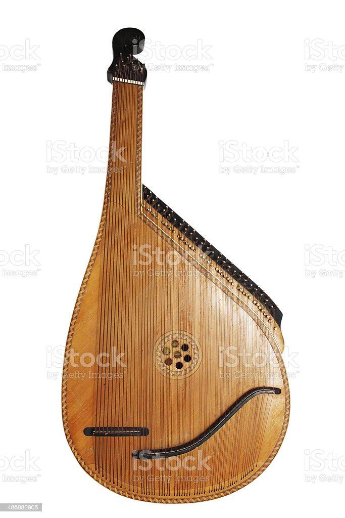 Музыкальный инструмент bandura стоковое фото