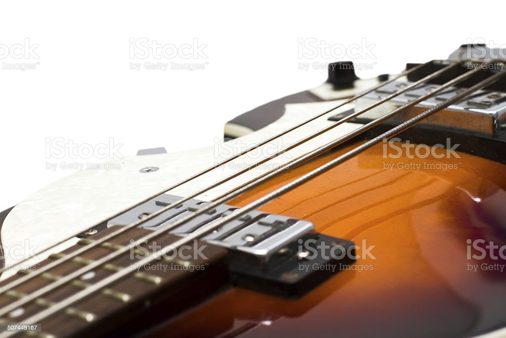 Musical instrument. Detail of a musical instrument stock photo