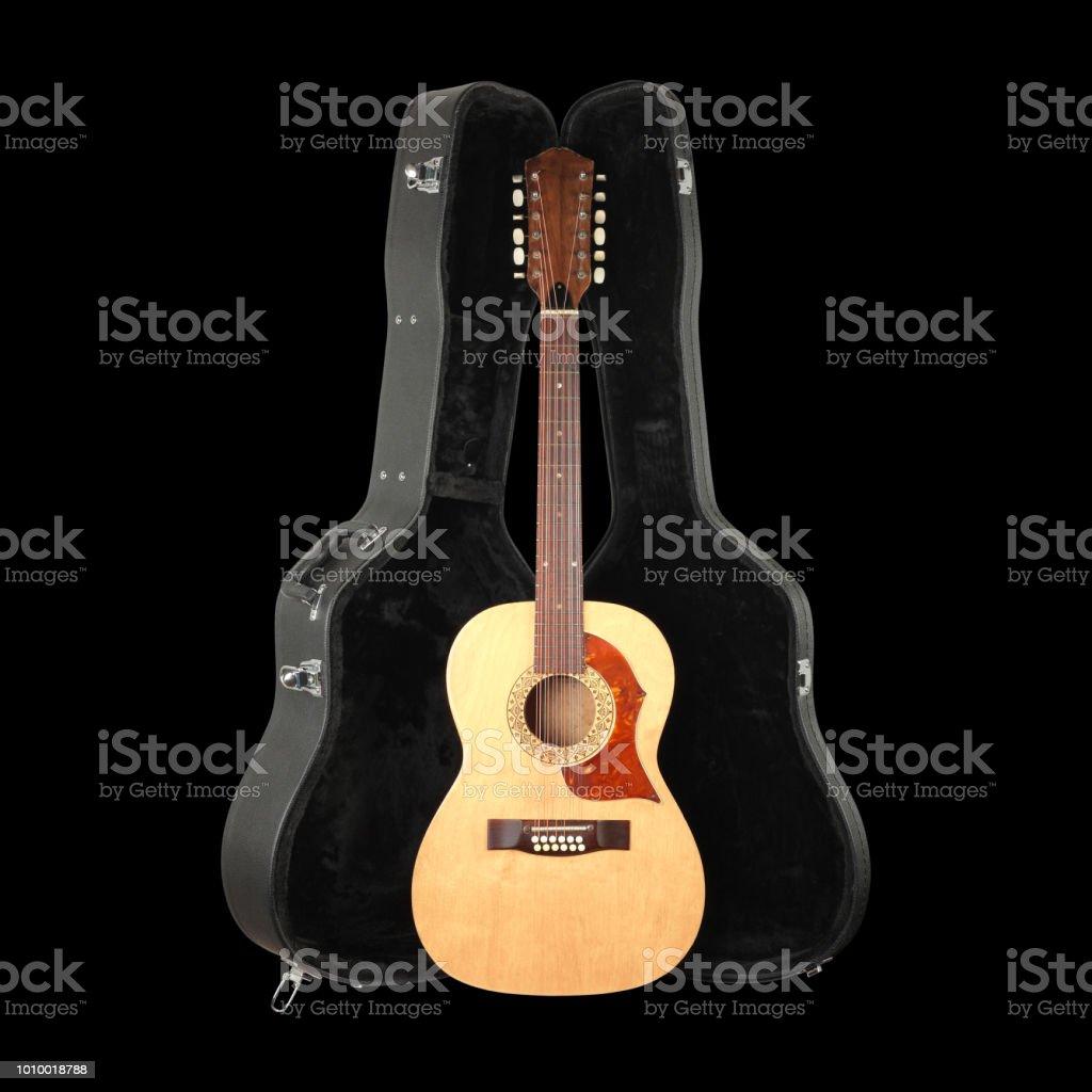 Fotografía de Instrumentos Musicales Frente Vista Vintage Guitarra ...