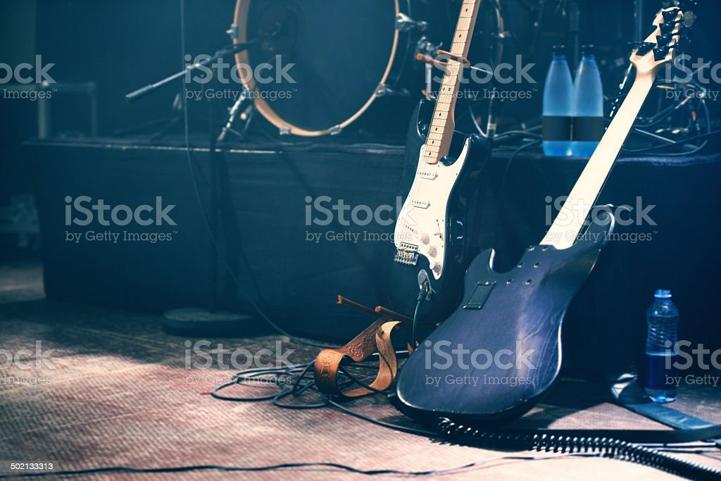 Waiting to be played stock photo