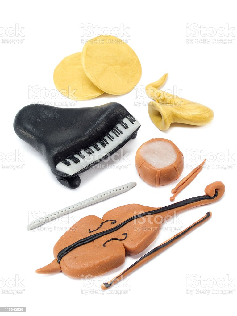 Musical Instruments royalty-free stock photo