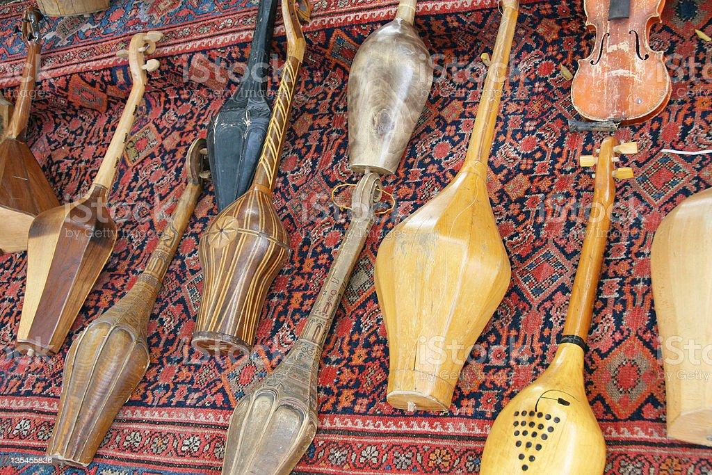 Музыкальные инструменты стоковое фото