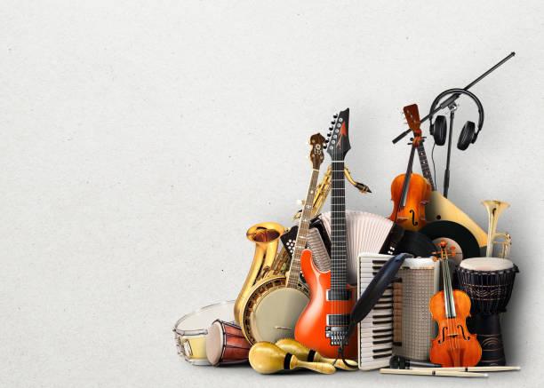instruments de musique - instrument de musique photos et images de collection